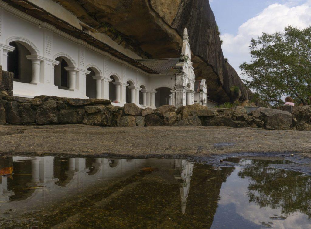 Dambulla Rock Temple Exterior 2
