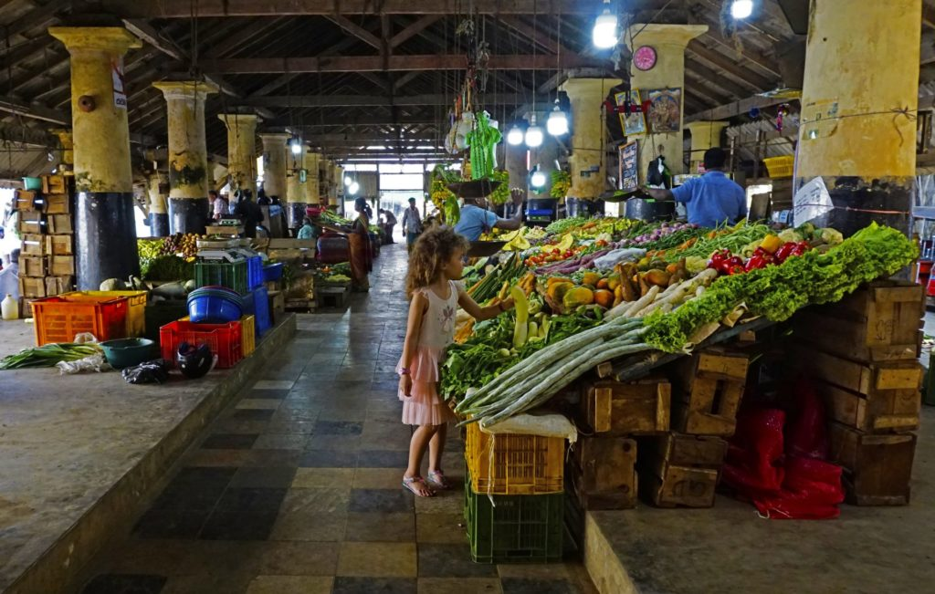 Galle - The Fruit and Vegetable Market