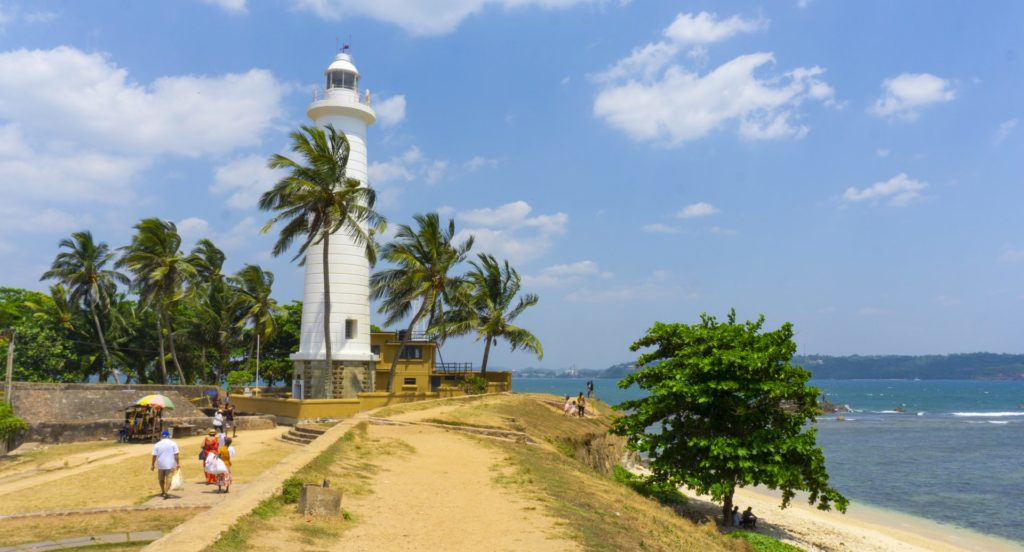 The Lighthouse at Galle Fort