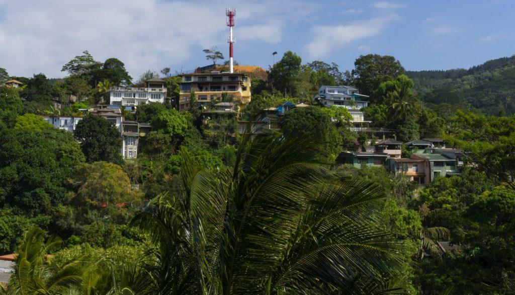 Hantana Hill in Kandy, Sri Lanka