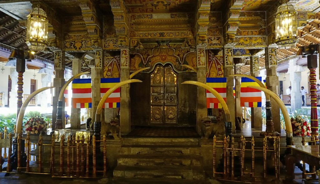 Kandy - Temple of the Sacred Tooth Relic - Inner Temple