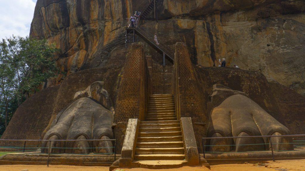 Sigiriya Rock - The Lion Feet