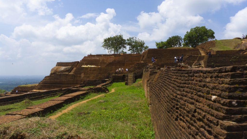 Sigiriya Rock - The Palace on Top