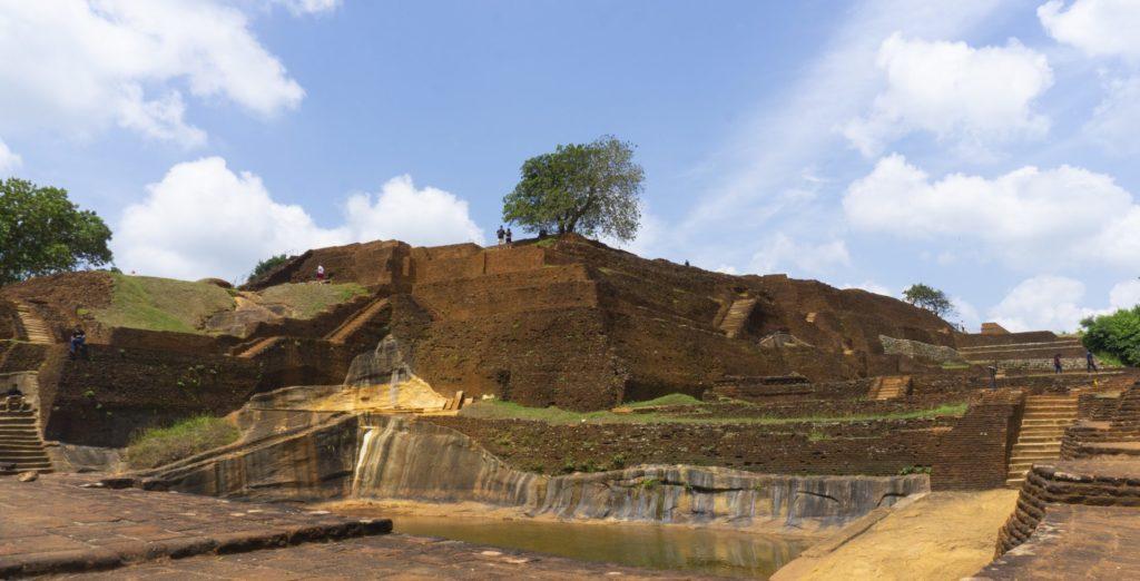 Sigiriya Rock - The Palace