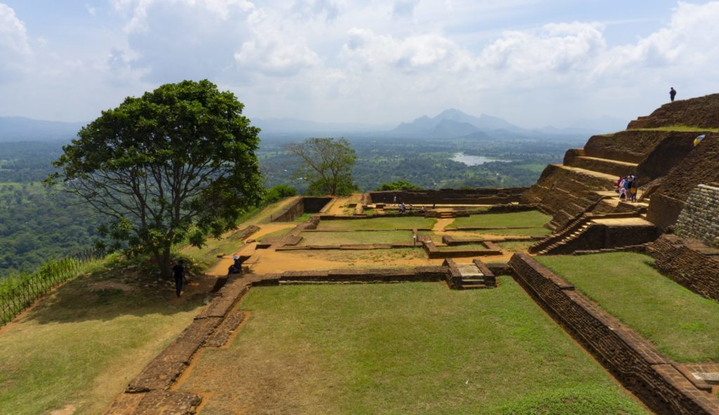 Sigiriya Rock - The Palace and the View from the Top