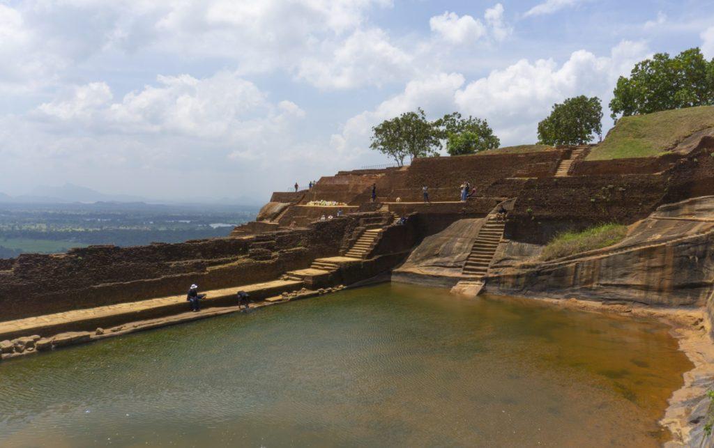 Sigiriya Rock - View from the Palace