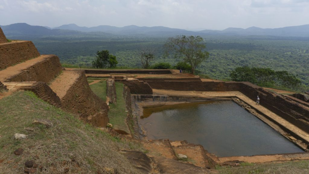 Sigiriya Rock - Royal swimming pool