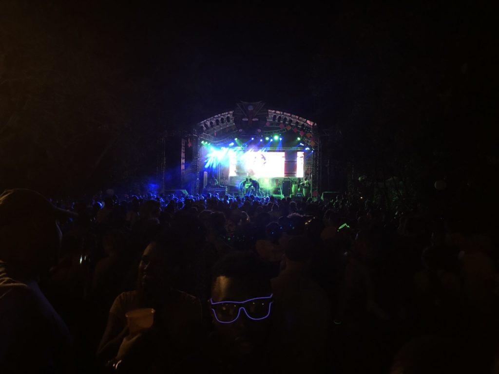 Nyege Nyege Festival in Jinja - Huge Crowds by the Main Stage