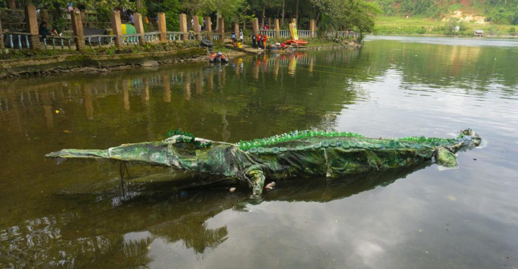 Crocodile at the Nyege Nyege Festival 2019