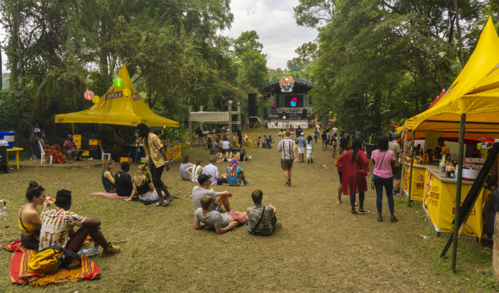 Nyege Nyege Festival During Daytime - Less Busy Than at Night