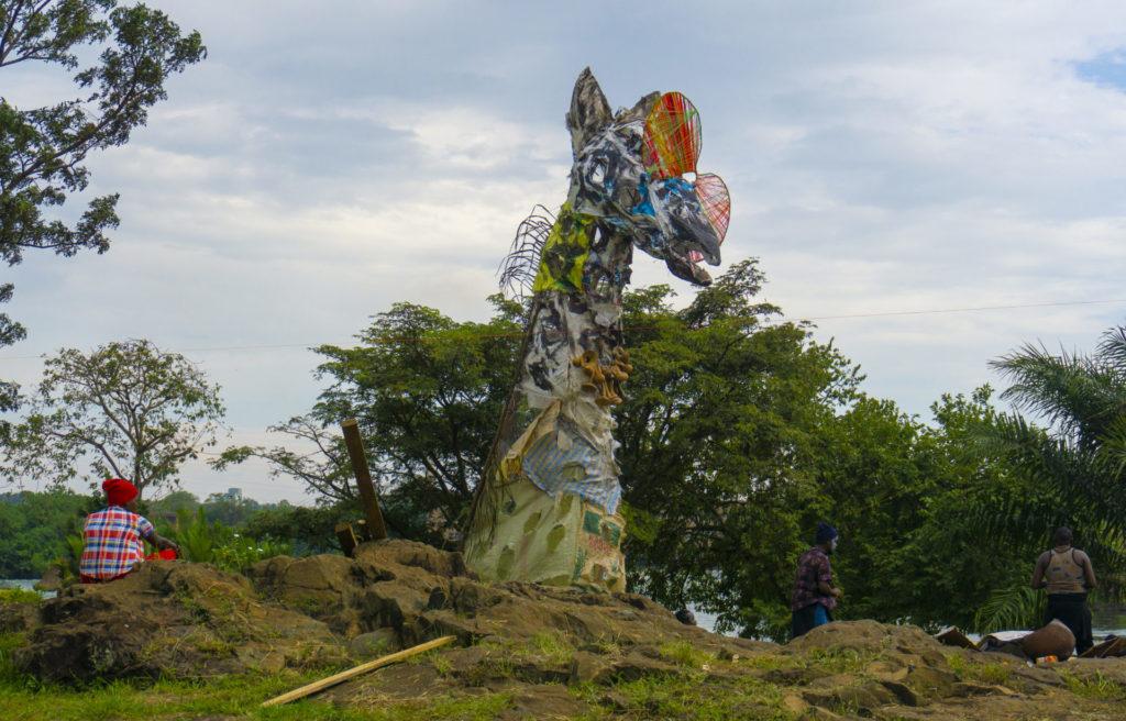 Giraffe at the Nyege Nyege Festival 2019