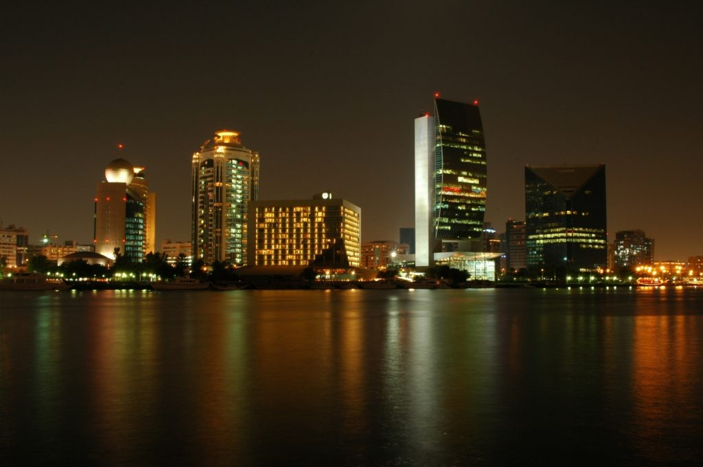 Dubai Deira by Night 2009