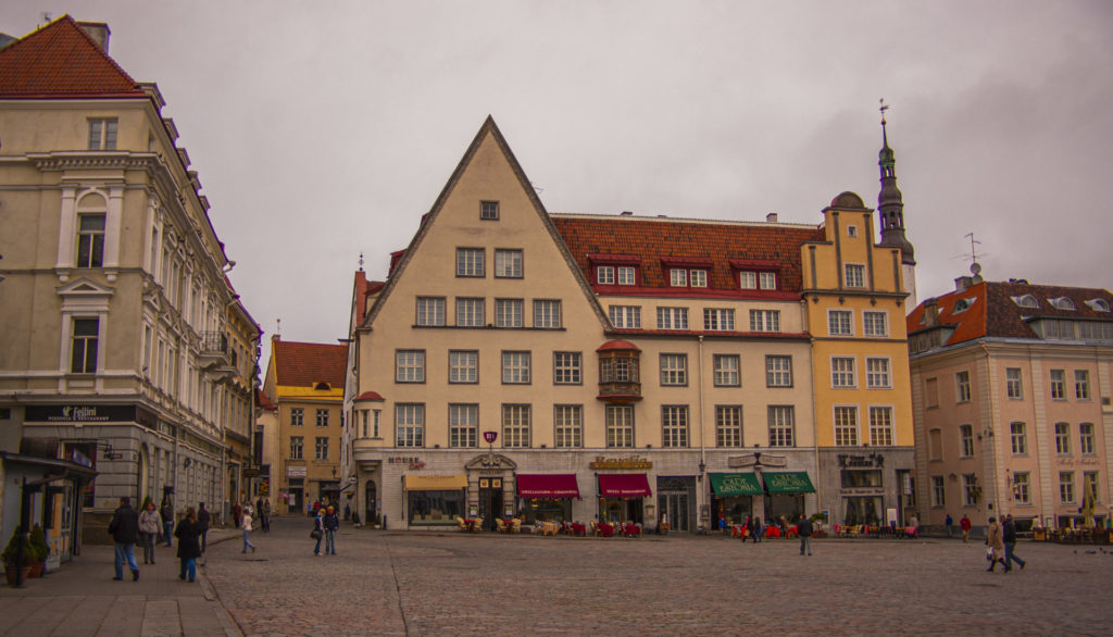 Tallinn – Old Town - Raakoja Plats