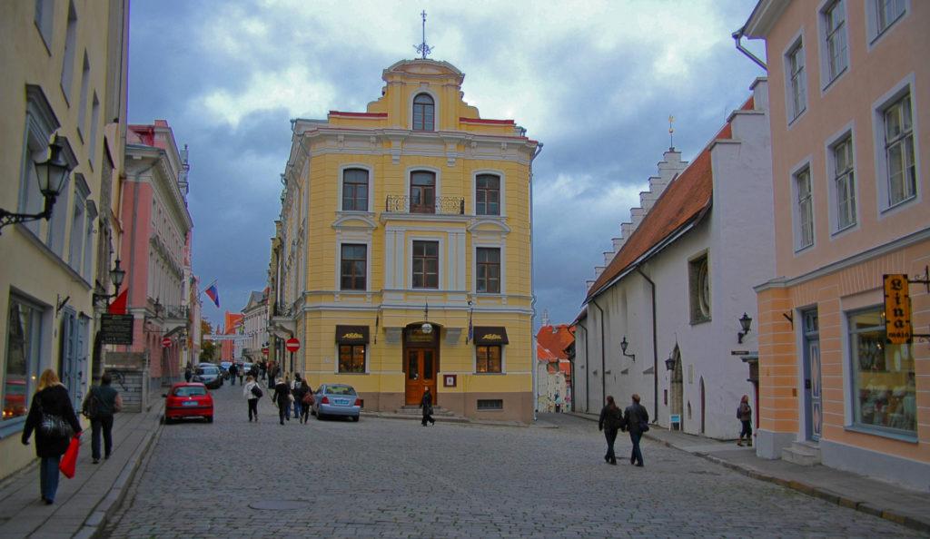 Tallinn – a street in the Old Town