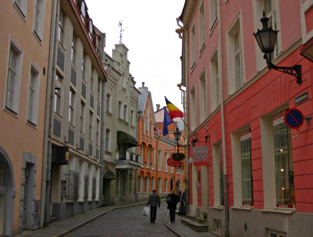 Tallinn – Old Town – Rataskaevu Street