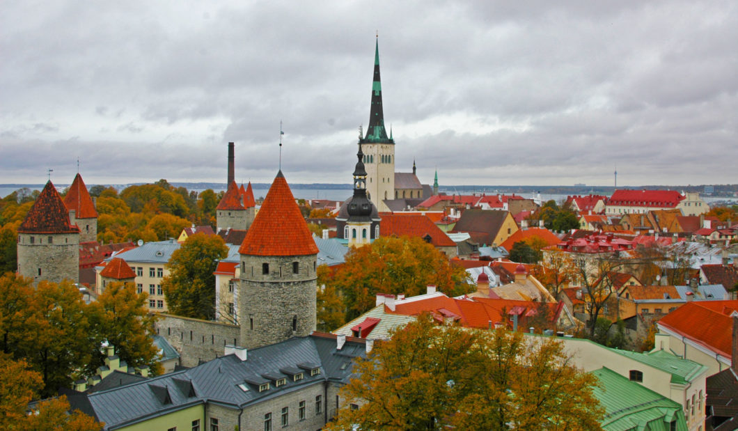 Tallinn - View of the Old Town