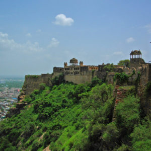 Gwalior Fort - Spectacularly situated above the city
