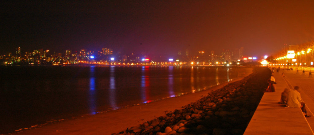 Mumbai – Marine Drive at Night
