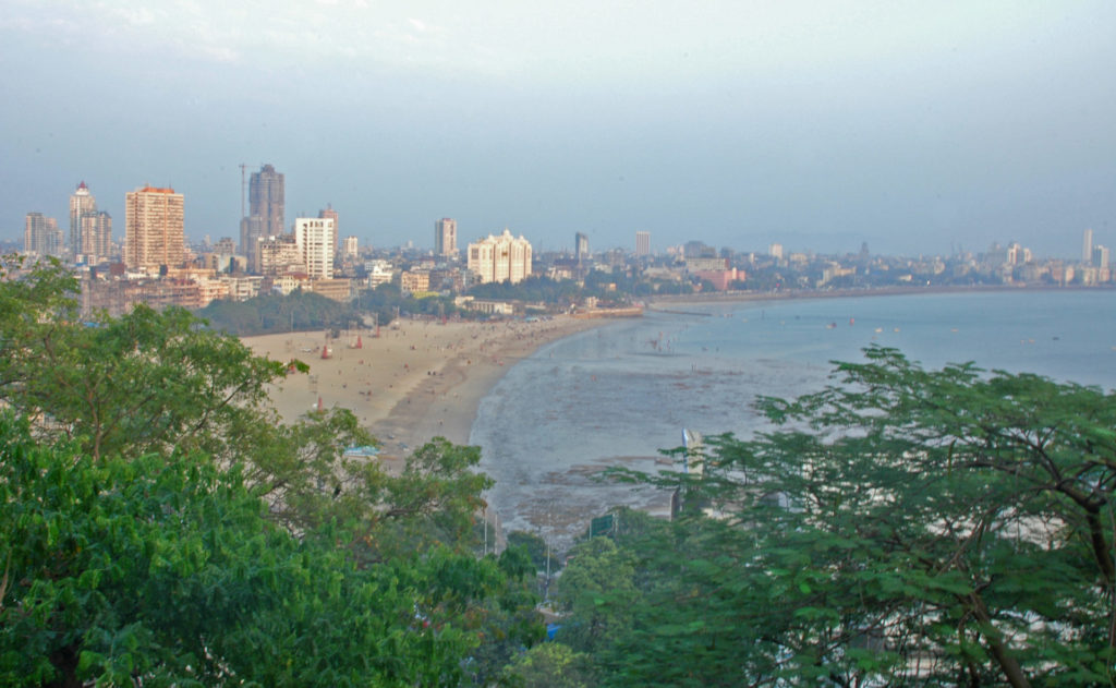 Mumbai – View of the City from Kamala Nehru Park