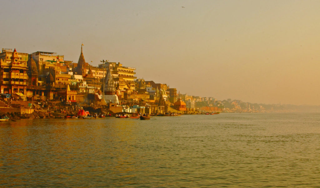 Varanasi – Early morning on the Ganga River