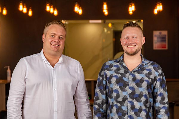 Håvar Bauck and Endre Opdal - travel-tech entrepreneurs